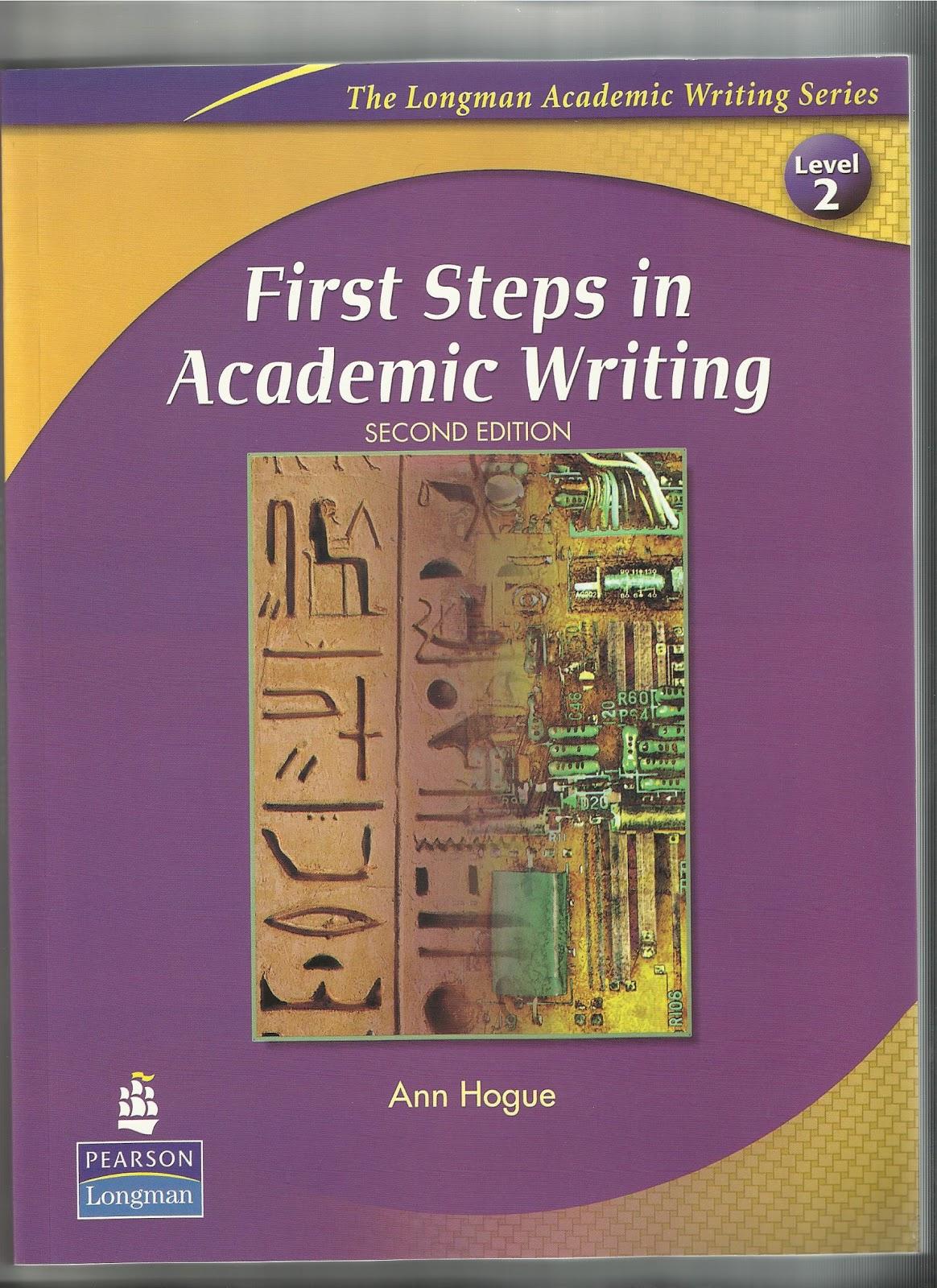 حلول كتاب first steps in academic writing