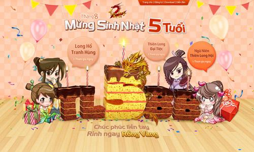 TLBB mở tiệc sinh nhật hoàng tráng tại TP. Hồ Chí Minh 1