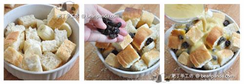 椰糖香蕉麵包布甸Coconut Bread Pudding_step04