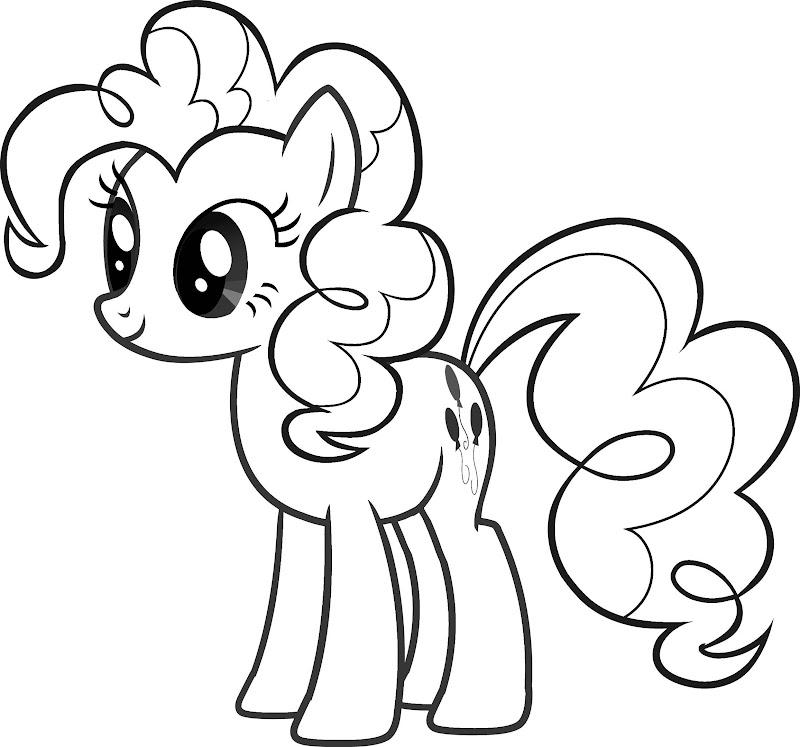 Mi pequeño pony para colorear