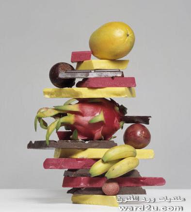 فنون وجنون بالخضروات