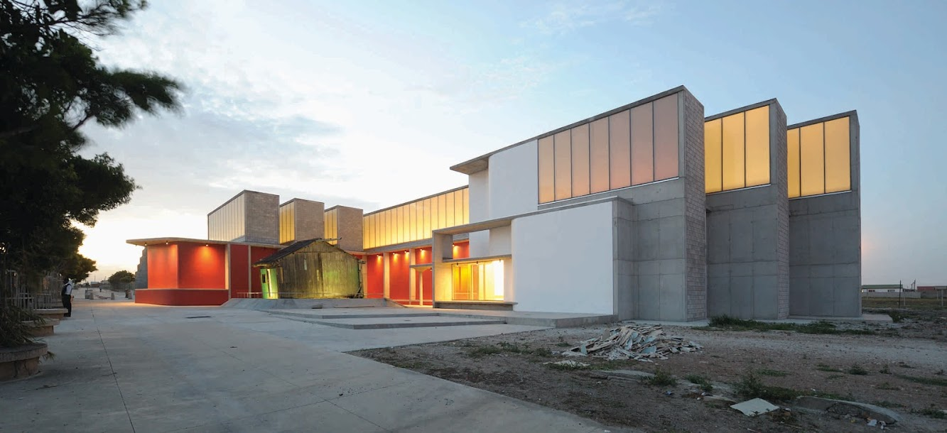 Commercial Rd, Port Elizabeth 6200, Sudafrica: Red Location Museum by Noero Wolff Architects