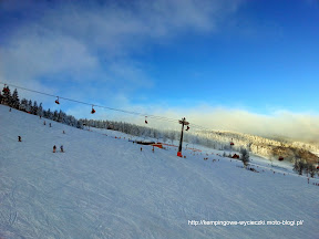 na zdjęciu stok narciarski w Zieleńcu na narty