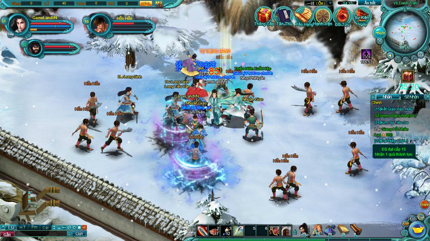 Hình ảnh thử nghiệm webgame Tiểu Lý Phi Đao - Ảnh 11