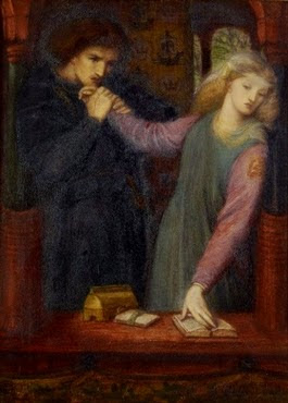 Hamlet and Ophelia - D.G. Rossetti