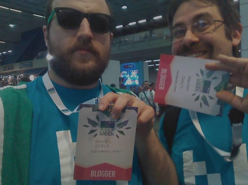 Il dinamico duo alla Games Week 2015