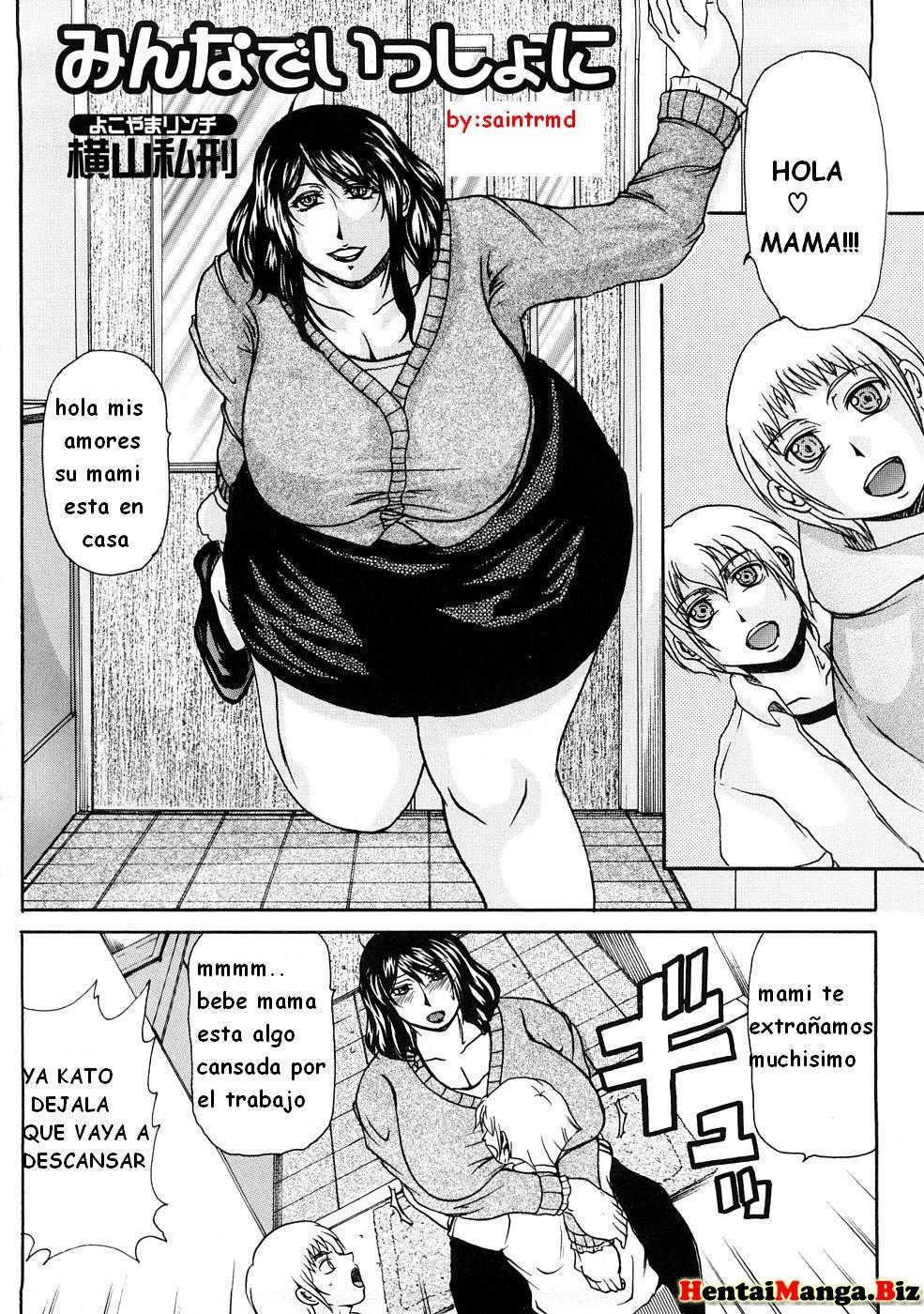 Incest Hentai - Mi gran mama [Spanish]-Read-Hentai-Manga-Onlnie