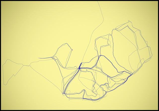 Well trodden paths Woburn_trails_yelow