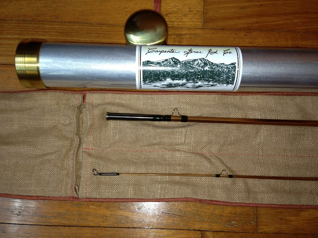 Fly fishing journal another cris carpenter rod for Fly fishing journal