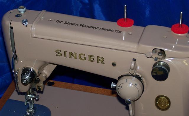 Singer Model 306 Sewing Machine  Restoration  Decals