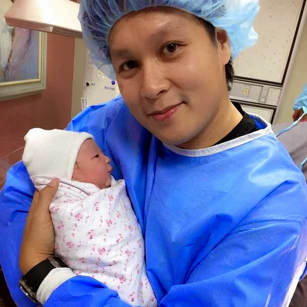 ara mina gives birth to baby girl with mayor patrick meneses
