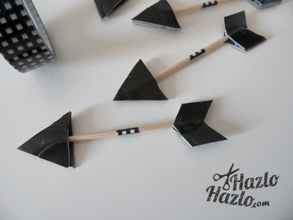 Cómo hacer flechas