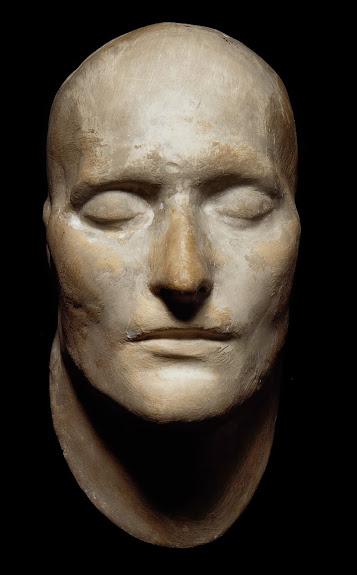 Máscara mortuária de Napoleão Bonaparte. (Foto: Acervo Bonhams)