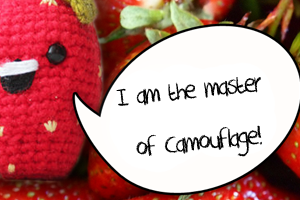 Amigurumi Strawberry free crochet pattern by The Sun and the Turtle