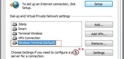 dialup proxy server