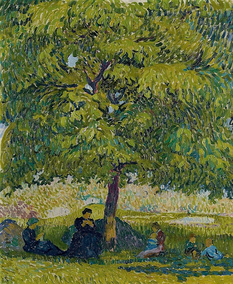 Giovanni Giacometti - The Walnut Tree, 1908