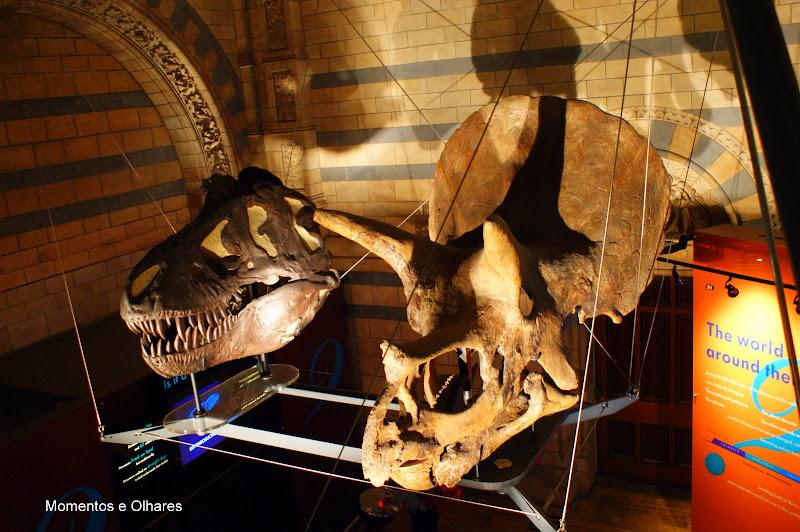 Dinossauros, Londres