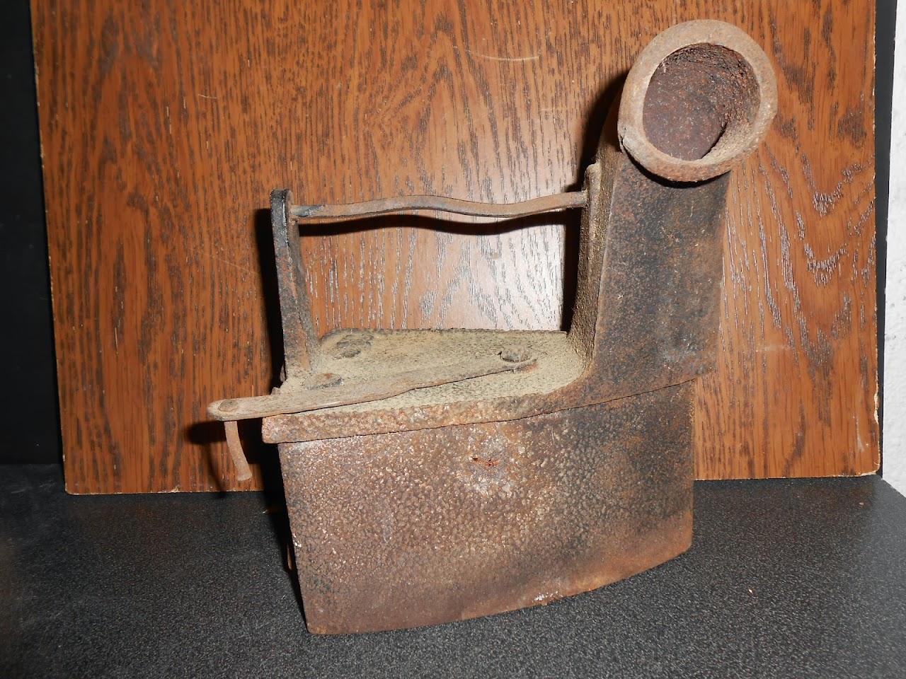 ancien fer a repasser 2 385 kilo collection metal objet. Black Bedroom Furniture Sets. Home Design Ideas