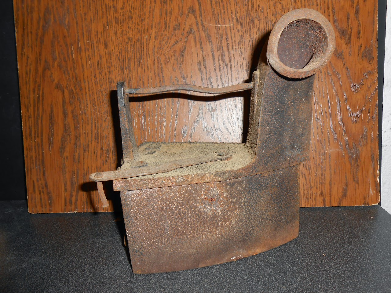 ancien fer a repasser 2 385 kilo collection metal objet decoration repassage 19e ebay. Black Bedroom Furniture Sets. Home Design Ideas