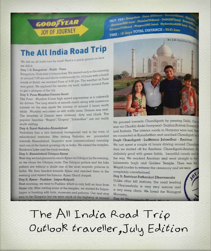Featured on Outlook Traveller