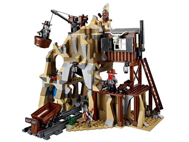 79110 レゴ ローンレンジャー 銀の鉱山での決戦
