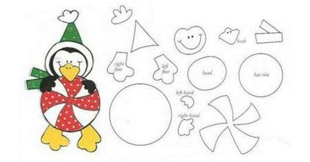Moldes y Figuras de Sucha Foami: navidad