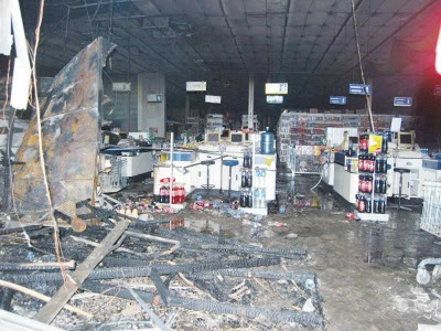 Pasar raya Mydin Kota Bharu terbakar