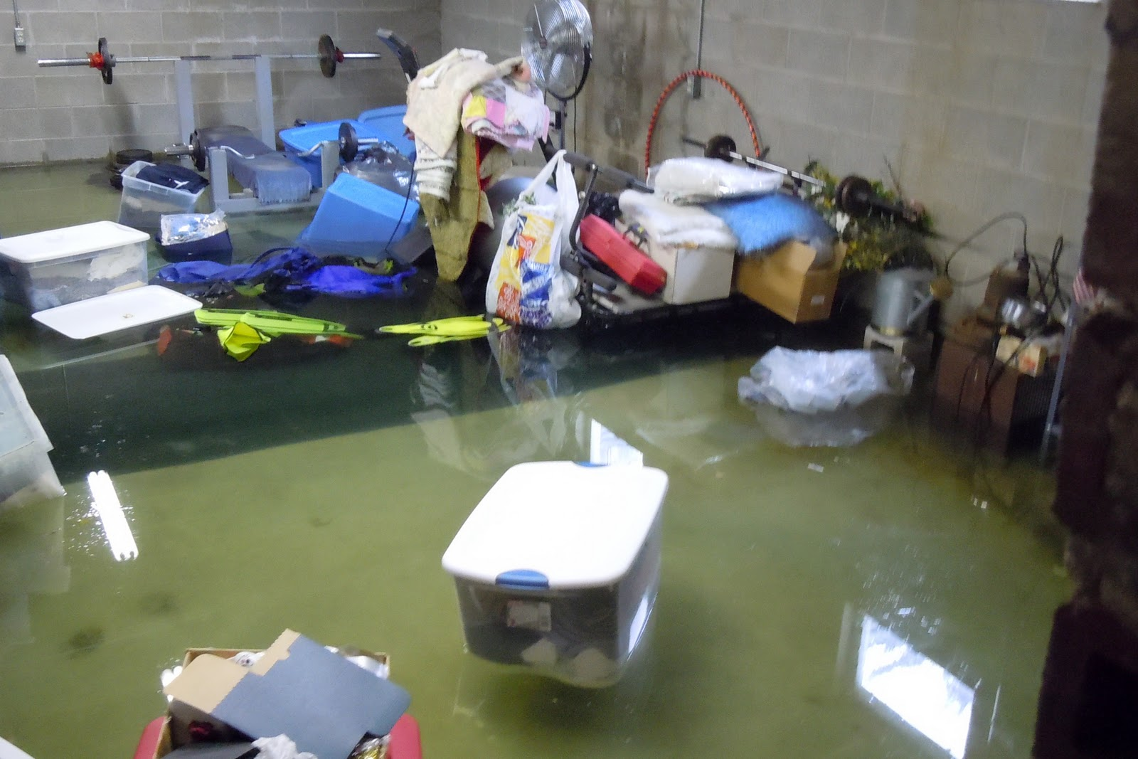 pump that failed and made my basement flood twice in one month