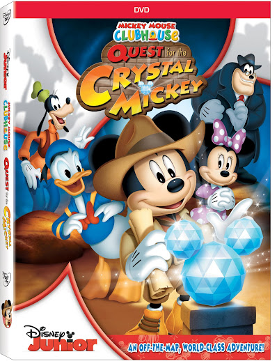 Disney Junior's Mickey Mouse Clubhouse: Quest for the Crystal Mickey #Mickey #Disney