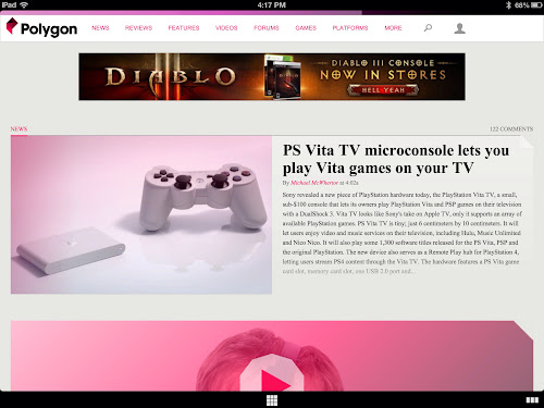 Polygon as seen in the Coast browser