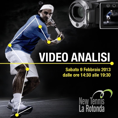 Un pomeriggio di video analisi al Club New Tennis la Rotonda