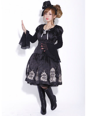 Gothic Japanese Street Fashion