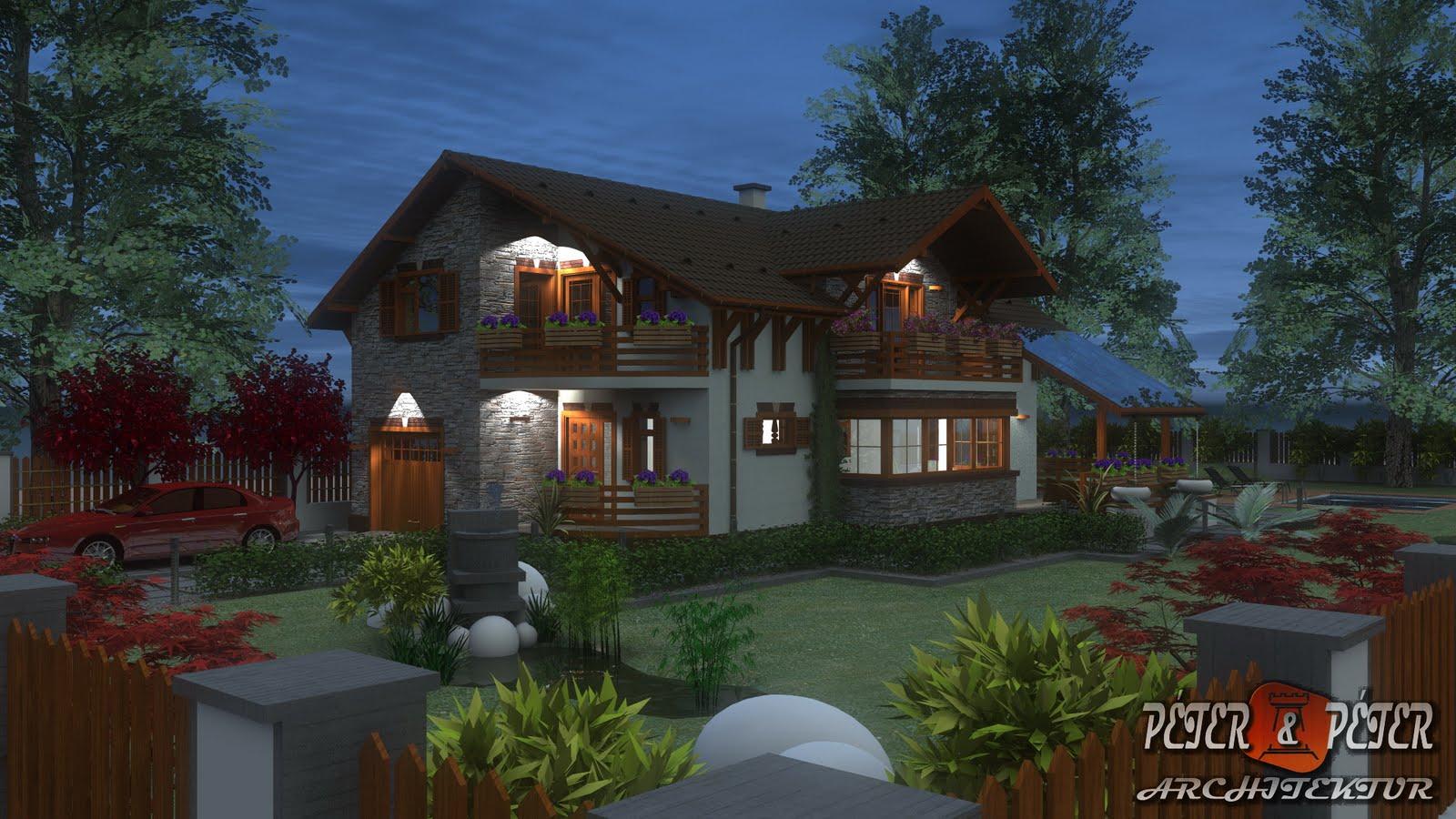 P p architektur B house