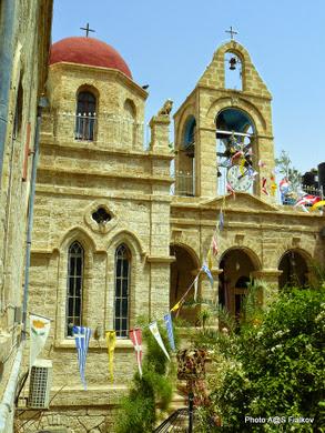 Монастырь Герасима Иорданского. Экскурсия Монастыри Иудейской пустыни. Ги в Израиле Светлана Фиалкова.