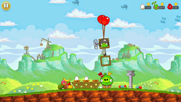 Angry Birds ra mắt phiên bản Red's Mighty Feathers 4