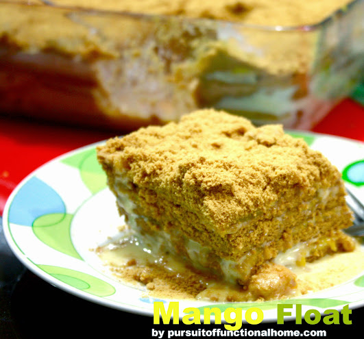 Mango Float, mango float recipe, how to make mango float, mango float dessert recipe, filipino dessert, filipino recipe, christmas dessert