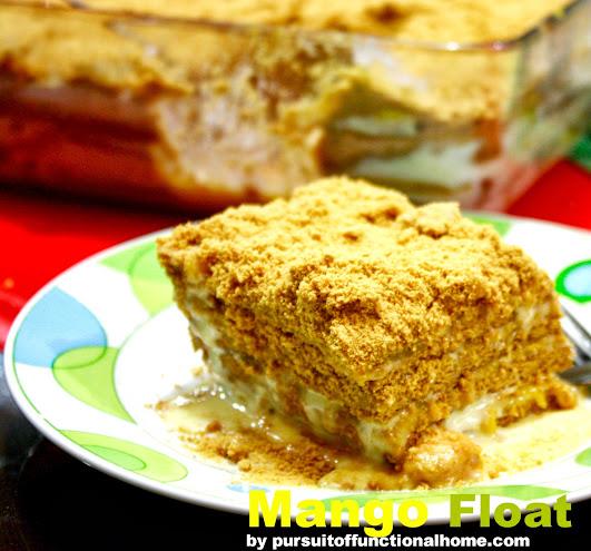 Mango Float, mango float recipe, how to make mango float, mango float dessert recipe, filipino dessert, filipino recipe, christmas dessert