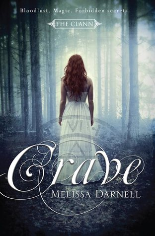 Crave by Melissa Darnell Australian Book Cover