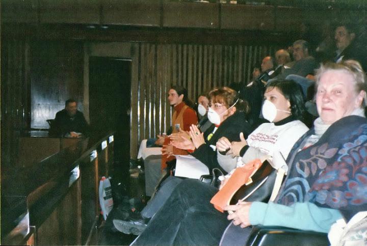 Apedema contra Queimadas na AL-RS. Fotos arquivo Agapan, 2002.