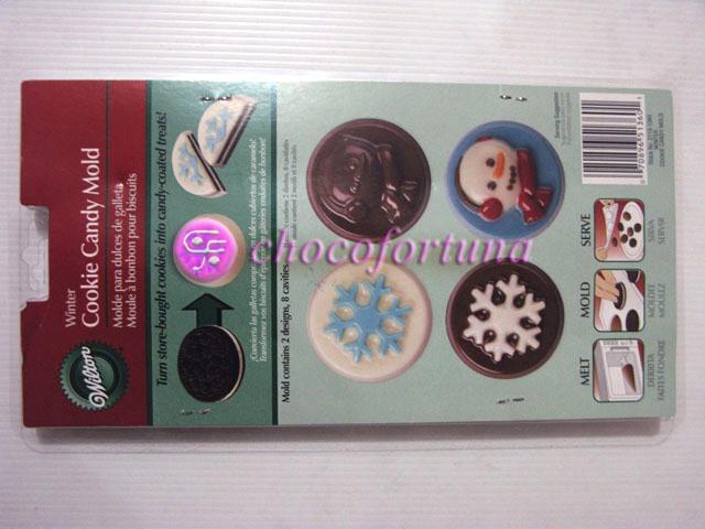 Cetakan Coklat Oreo Natal Winter