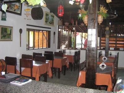 Taverna do Alto: Salão interno (Foto retirada do site)