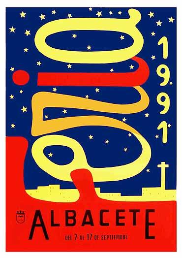 Cartel Feria Albacete 1991