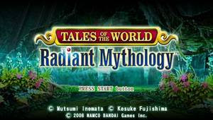 Tales of the World: Radiant Mythology US psp iso sc1