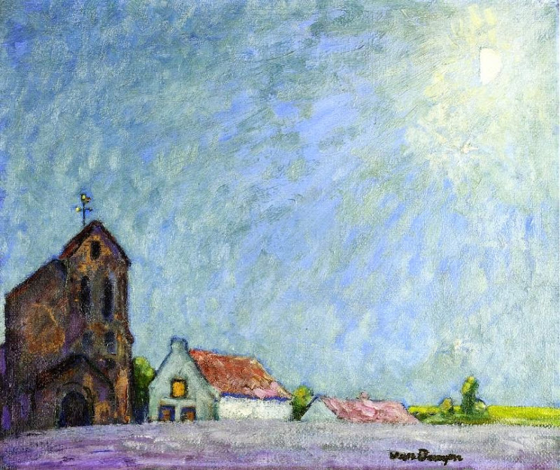 Kees Van Dongen - Moonlit Landscape