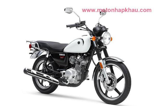 Yamaha YB125SP Trắng