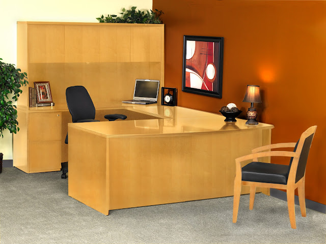 Mayline Luminary Office Desk