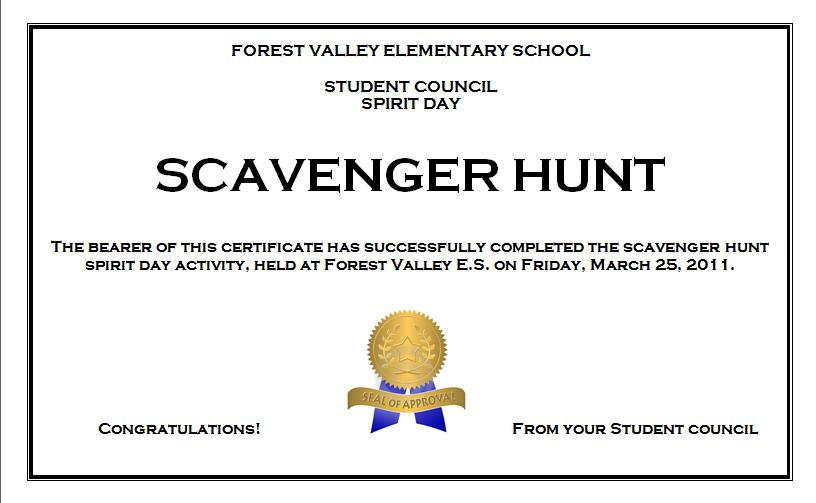 forest valley student council