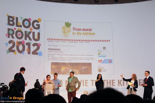 gala blog roku onet 2012 - tegoroczny zwycięzca