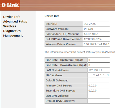 1 Configuration guide of  ADSL WiFi Modem D Link DSL 2730 U for BSNL and MTNL