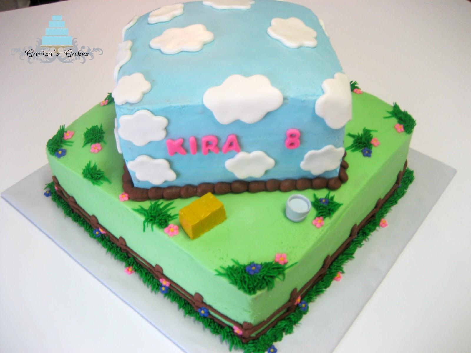 Carisas Cakes Horse Themed Birthday Cake